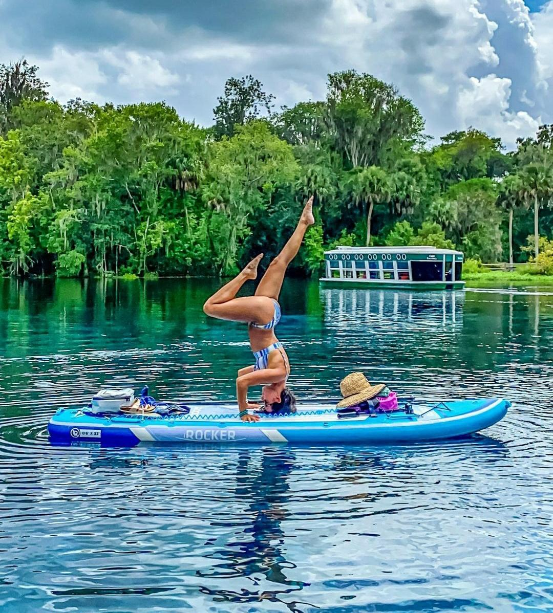SUP Yoga for Paddlers
