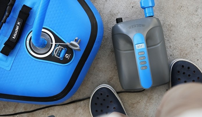 How to Use iROCKER'S Electric SUP Pump